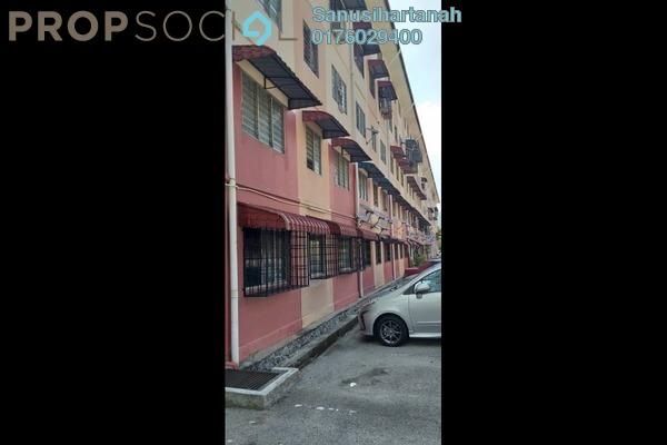 Apartment For Sale in Taman Tun Perak, Rawang Freehold Unfurnished 3R/2B 130k