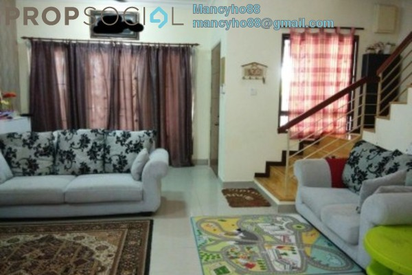 Terrace For Sale in BK9, Bandar Kinrara Freehold Semi Furnished 4R/3B 960k