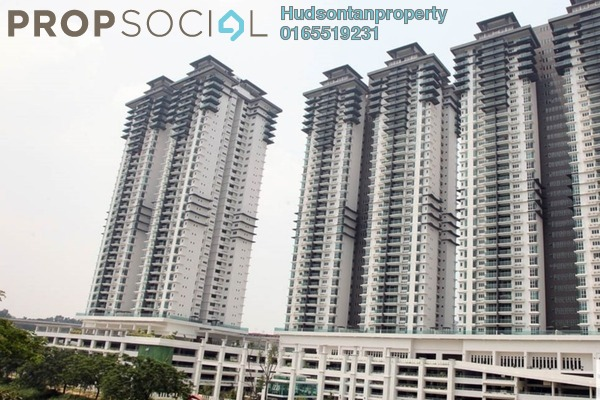 Condominium For Sale in Kiara Residence 2, Bukit Jalil Freehold Semi Furnished 4R/3B 630k