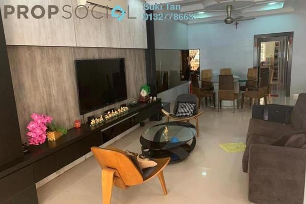 Terrace For Sale in Damai Puri, Kepong Freehold Semi Furnished 5R/5B 1.18m