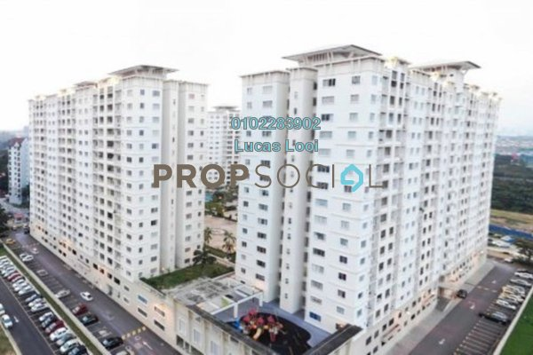 Condominium For Sale in SuriaMas, Bandar Sunway Freehold Fully Furnished 4R/2B 520k