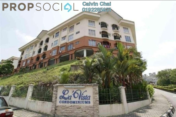 Condominium For Sale in La Vista, Bandar Puchong Jaya Freehold Unfurnished 4R/3B 398k