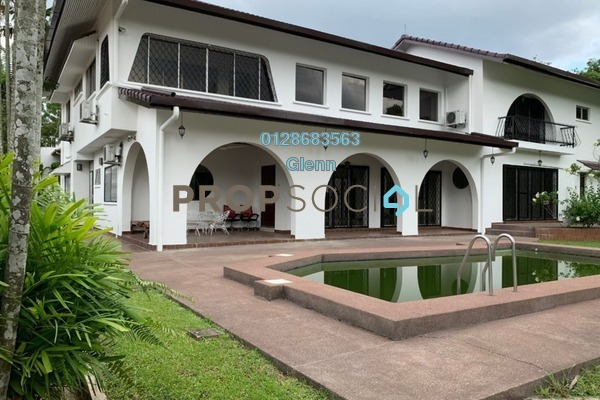 Bungalow For Rent in Taman U-Thant, Ampang Hilir Freehold Semi Furnished 6R/6B 30k