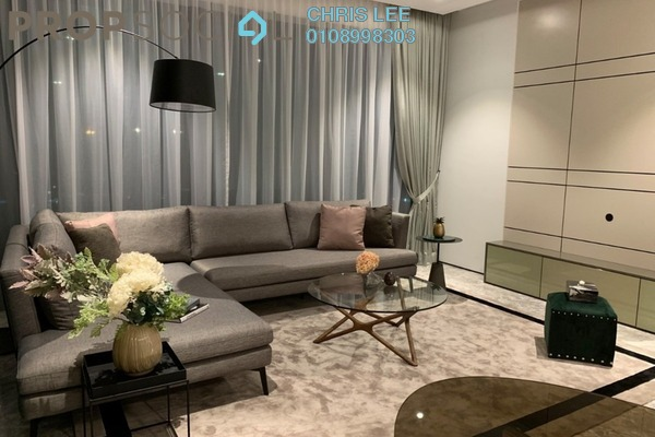 Condominium For Rent in Four Seasons Place, KLCC Freehold Fully Furnished 3R/4B 22k