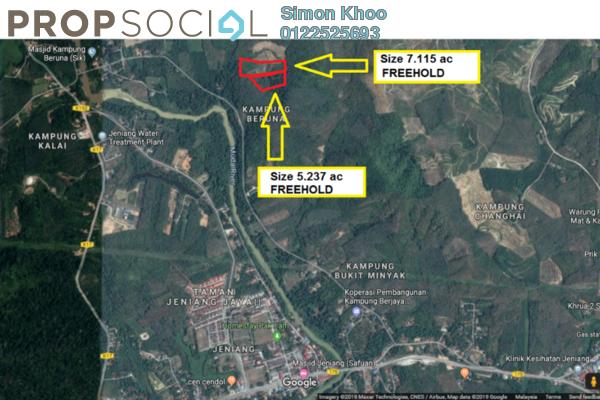 Land For Sale in Kampung Beruna, Sik Freehold Unfurnished 0R/0B 1.35m