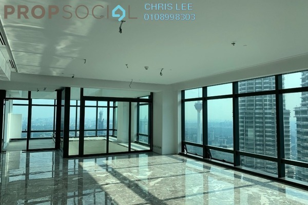Condominium For Sale in Four Seasons Place, KLCC Freehold Semi Furnished 5R/6B 25.5m