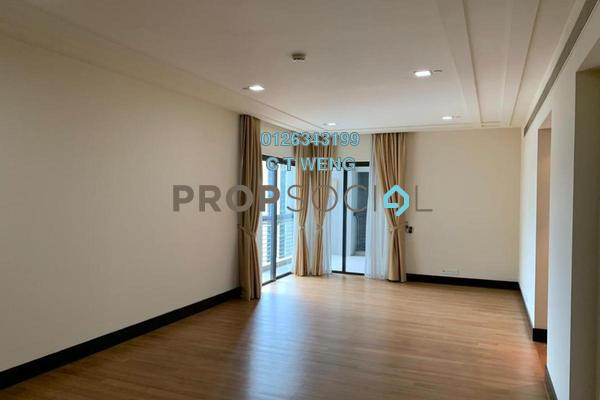 Condominium For Rent in The Binjai On The Park, KLCC Freehold Semi Furnished 3R/5B 10k