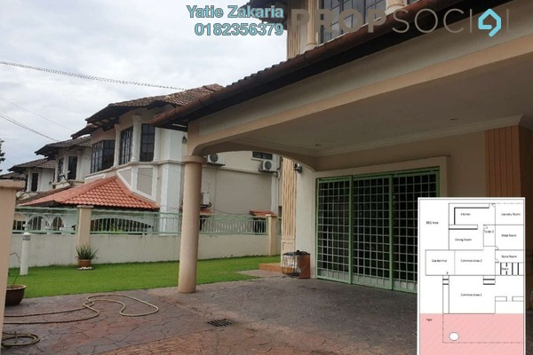 Semi-Detached For Sale in BRP 5, Bukit Rahman Putra Freehold Fully Furnished 5R/5B 1.2m