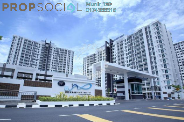 Condominium For Rent in Royale Infinity, Simpang Ampat Freehold fully_furnished 3R/2B 1.6k