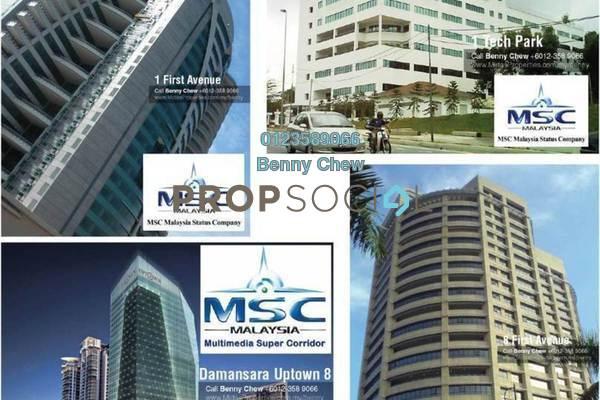 Office For Rent in BU6, Bandar Utama Freehold Semi Furnished 0R/0B 11k
