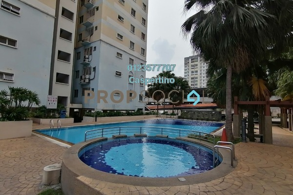 For Rent Condominium at Vista Prima, Puchong Freehold Unfurnished 3R/2B 850translationmissing:en.pricing.unit