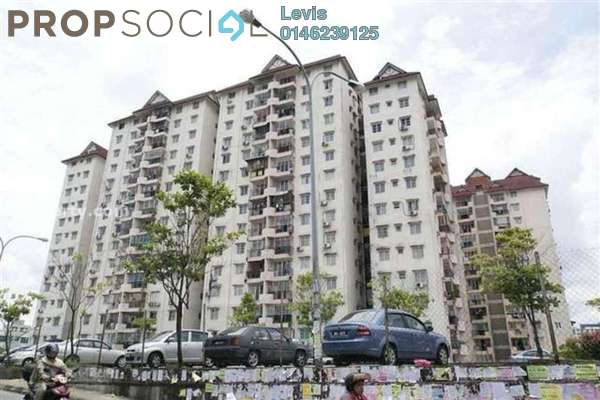 Condominium For Rent in Genting Court, Setapak Freehold Semi Furnished 3R/2B 1.2k