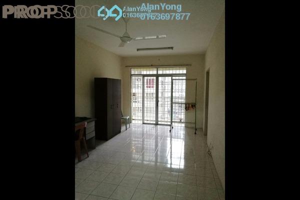 Condominium For Rent in Platinum Hill PV5, Setapak Freehold Semi Furnished 4R/2B 1.6k