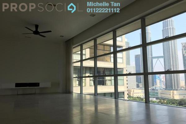 Condominium For Rent in Park Seven, KLCC Freehold Semi Furnished 4R/5B 14k