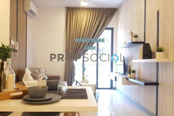 Serviced Residence For Sale in South View, Bangsar South Freehold Fully Furnished 2R/2B 740k