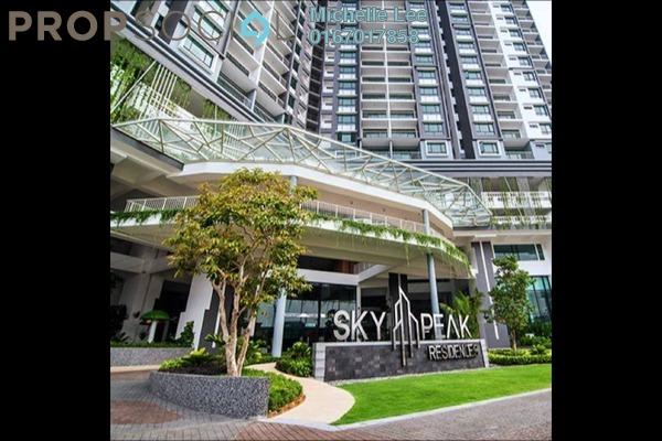 Serviced Residence For Sale in Sky Peak Residences, Setia Tropika Freehold Unfurnished 3R/2B 400k