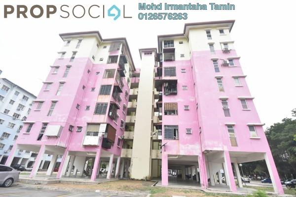Apartment For Sale in Salvia Apartment, Kota Damansara Freehold Semi Furnished 3R/2B 318k