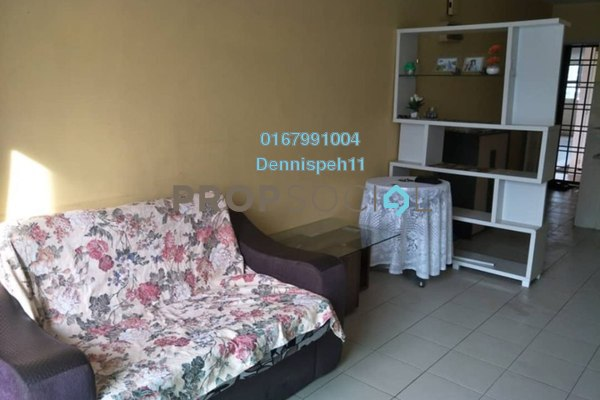 Apartment For Rent in Lake View Suites, Tebrau Freehold Fully Furnished 2R/2B 1.1k