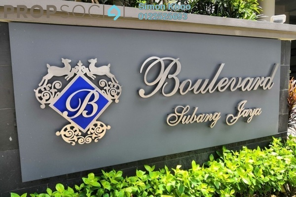 Condominium For Sale in The Boulevard, Subang Jaya Freehold Fully Furnished 3R/3B 780k