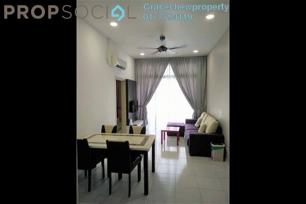 Serviced Residence For Rent in The Senai Garden, Senai Freehold Fully Furnished 1R/1B 1.5k