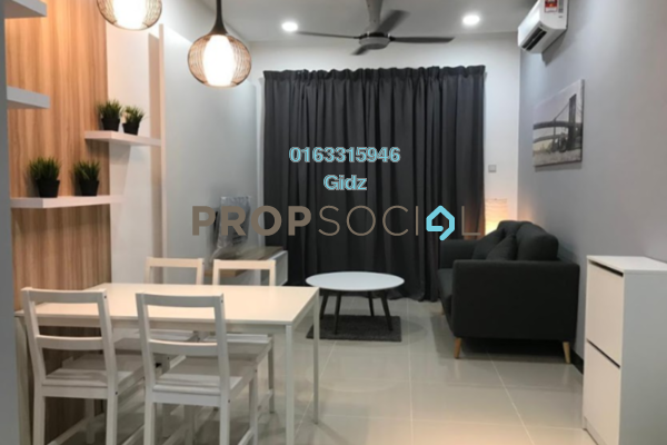 Apartment For Rent in South View, Bangsar South Freehold Fully Furnished 2R/2B 3k
