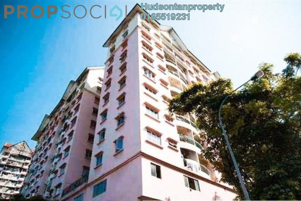 Condominium For Sale in Mutiara Sentul, Sentul Freehold Semi Furnished 3R/2B 350k