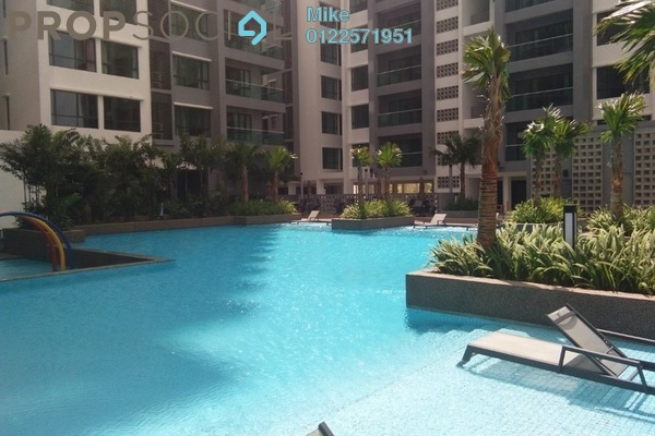Condominium For Sale in Residensi Harmoni 2 @ Bukit Prima Pelangi, Segambut Freehold Semi Furnished 3R/2B 800k