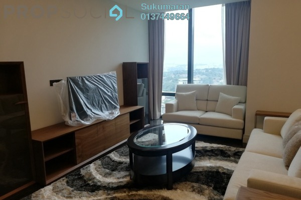 Serviced Residence For Rent in St Regis Residences, KL Sentral Freehold fully_furnished 0R/1B 7.9k