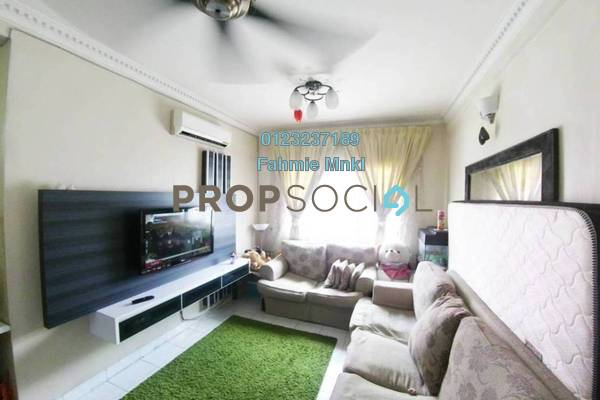 Apartment For Sale in Salvia Apartment, Kota Damansara Freehold Semi Furnished 3R/2B 340k