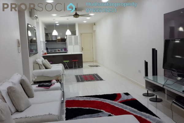 Condominium For Sale in Metropolitan Square, Damansara Perdana Freehold Semi Furnished 3R/2B 399k
