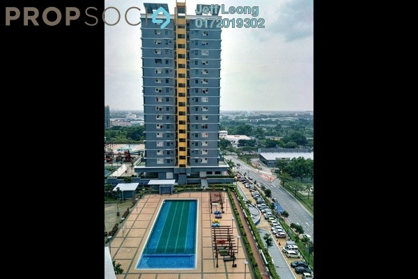 Serviced Residence For Rent in Vista Alam, Shah Alam Freehold Semi Furnished 1R/1B 1.05k