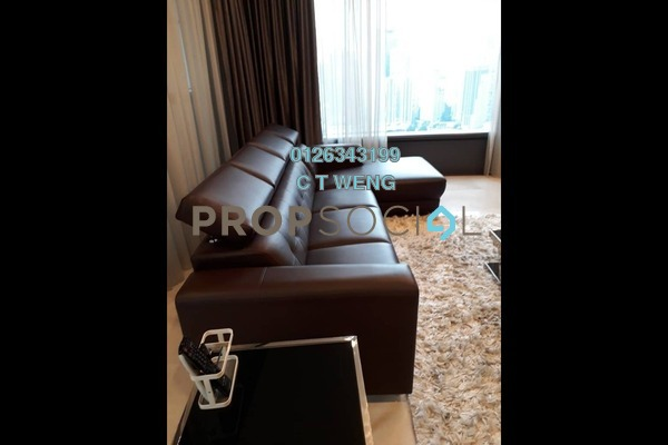 Condominium For Rent in The Troika, KLCC Freehold Fully Furnished 3R/5B 9.5k