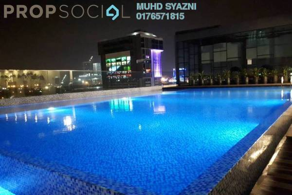 Condominium For Rent in Suria Jaya e-SOFO, Shah Alam Freehold Fully Furnished 2R/2B 1.1k