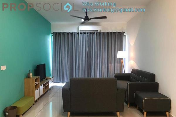 Condominium For Rent in Maxim Citilights, Sentul Freehold fully_furnished 3R/2B 1.1k