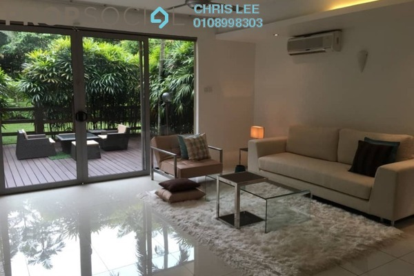 Bungalow For Rent in Bukit Pantai, Bangsar Freehold Semi Furnished 6R/6B 17k