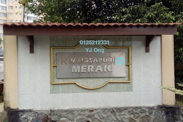 Condominium For Rent in Merak Apartment, Bandar Kinrara Freehold Unfurnished 3R/2B 1.1k