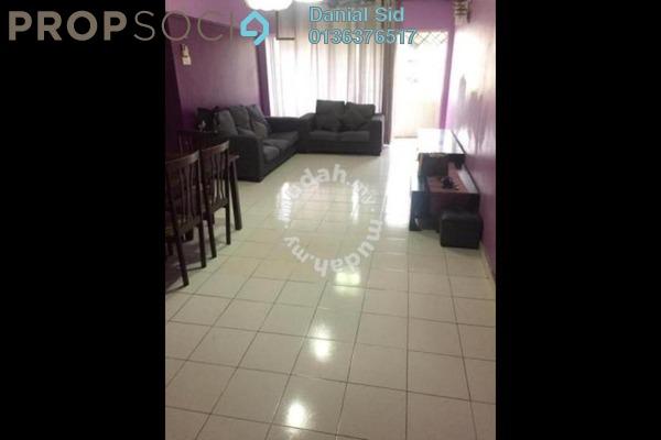 Condominium For Rent in Sentul Utama Condominium, Sentul Freehold Semi Furnished 3R/2B 1.3k