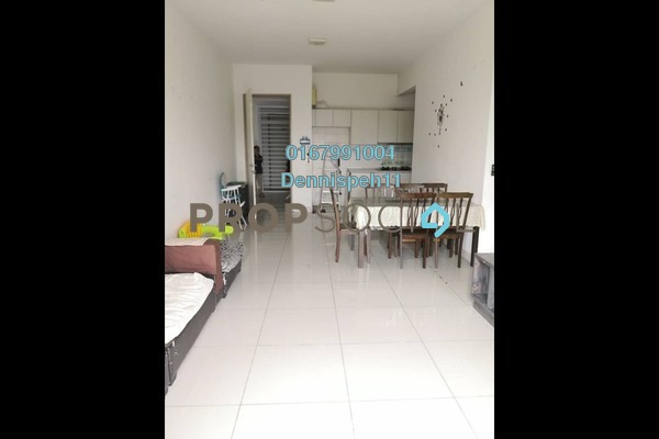 Serviced Residence For Rent in Greenfield Regency, Skudai Freehold Semi Furnished 3R/2B 1.4k