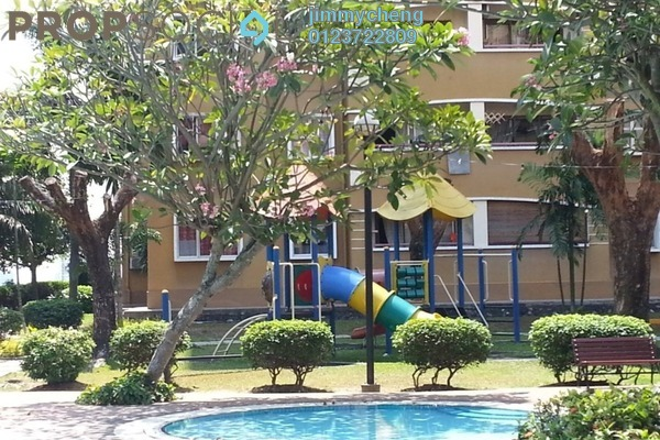 Apartment For Rent in Saraka Apartment, Pusat Bandar Puchong Freehold semi_furnished 3R/2B 1.1k