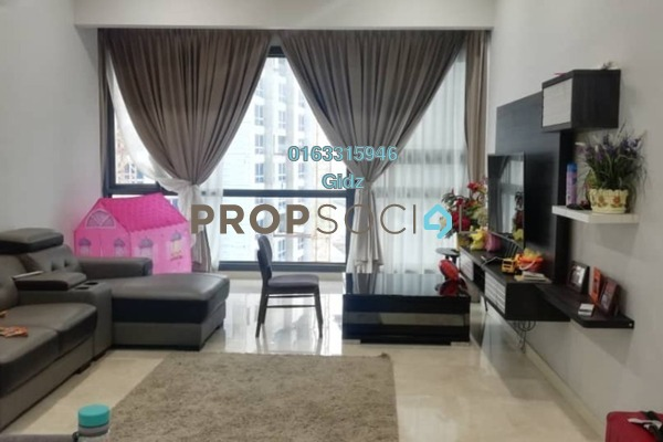 Serviced Residence For Rent in Vogue Suites One @ KL Eco City, Mid Valley City Freehold Fully Furnished 2R/2B 4k