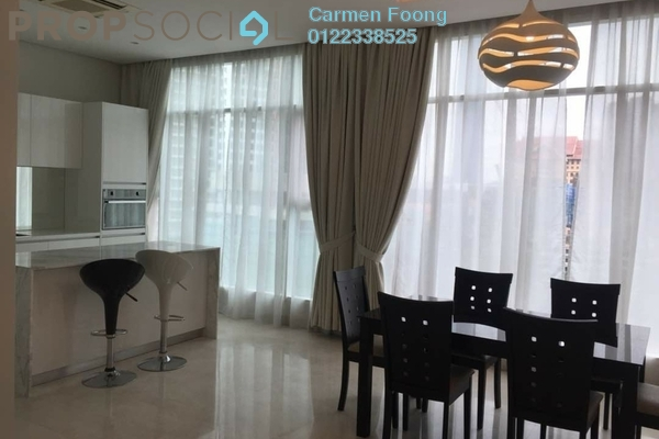 Condominium For Sale in Quadro Residences, KLCC Leasehold Fully Furnished 3R/2B 2.14m