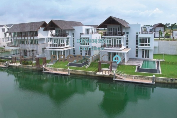 For Sale Terrace at Emerald Bay, Puteri Harbour Freehold Fully Furnished 4R/4B 5m