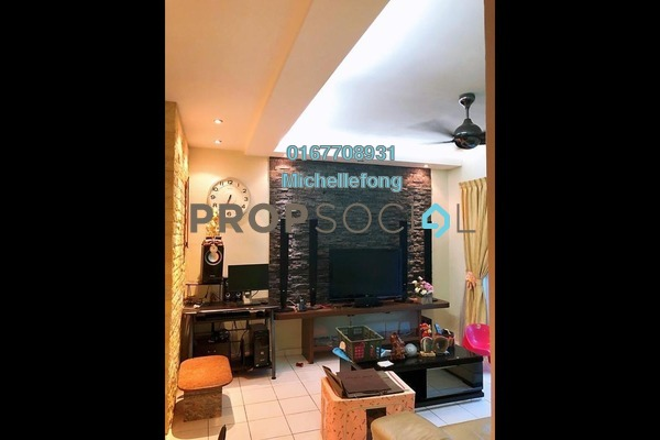 Apartment For Sale in Impian Senibong, Bandar Baru Permas Jaya Freehold Semi Furnished 3R/2B 285k