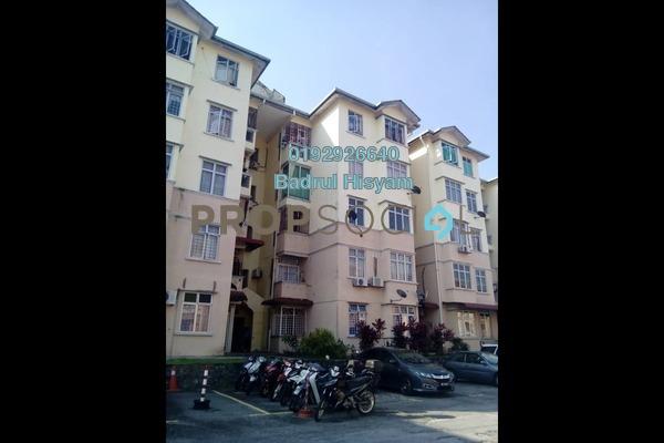 Apartment For Sale in Sri Kayangan Apartment, Ukay Freehold Semi Furnished 3R/2B 250k