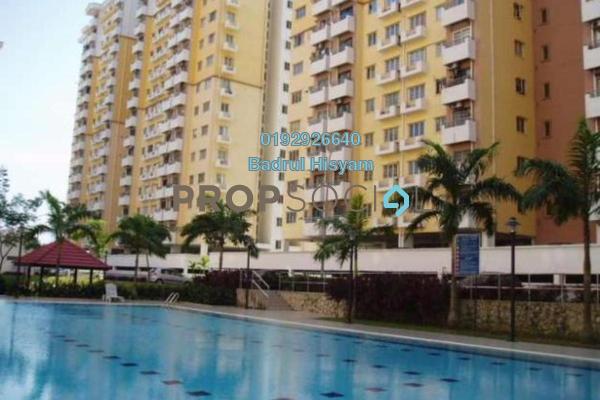 Apartment For Sale in Lestari Apartment, Bandar Sri Permaisuri Freehold Unfurnished 3R/2B 310k