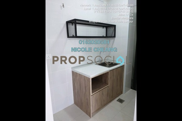 Condominium For Rent in Vim 3, Bandar Menjalara Freehold Semi Furnished 2R/1B 1.2k