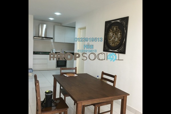 Serviced Residence For Sale in Alam Idaman, Shah Alam Freehold Fully Furnished 3R/2B 450k