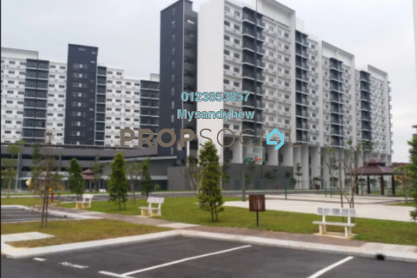 Apartment For Rent in Bandar Seri Putra, Bandar Seri Putra Freehold Semi Furnished 3R/3B 1.1k