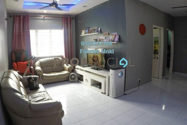 Apartment For Sale in Salvia Apartment, Kota Damansara Leasehold Fully Furnished 3R/2B 345k