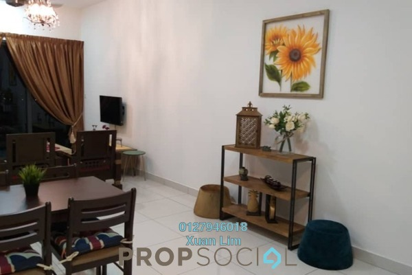 Serviced Residence For Rent in The Link 2 @ Bukit Jalil, Bukit Jalil Freehold Fully Furnished 3R/2B 2.3k